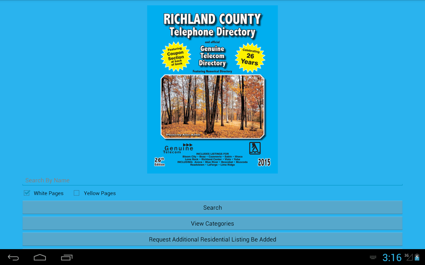 Richland County Directory- screenshot