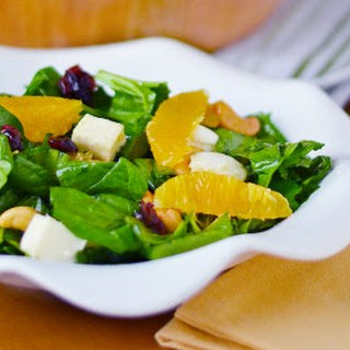 Orange Cranberry Cashew Salad.