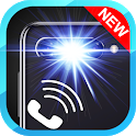 Flash notification on Call & all messages icon