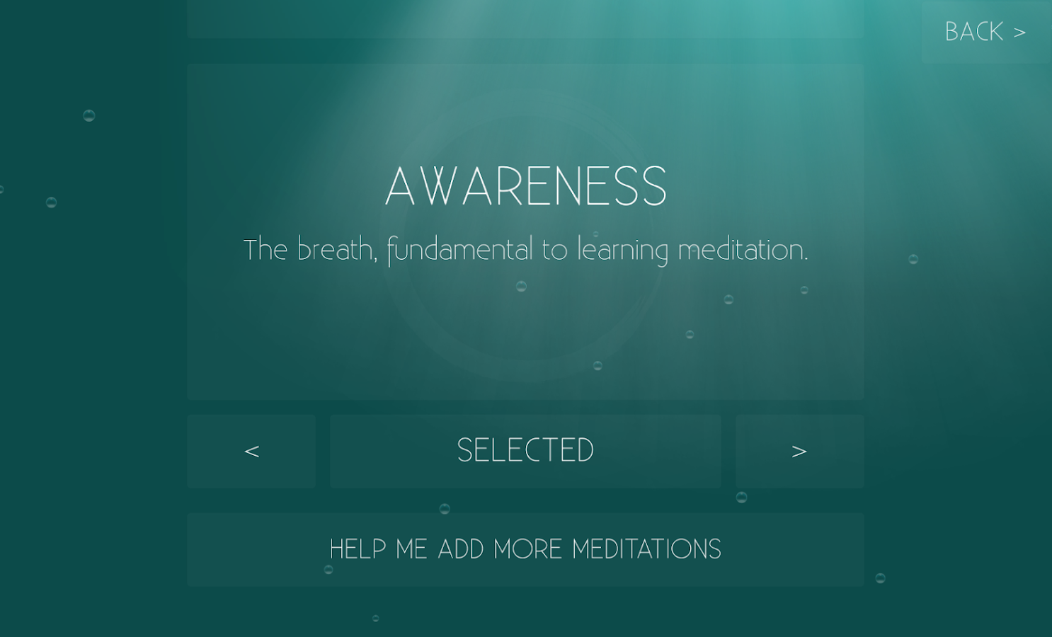 Meditation Game- screenshot