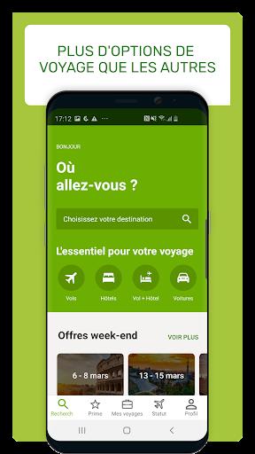 Go Voyages: Ru00e9server des vols et voyages pas chers  screenshots 1