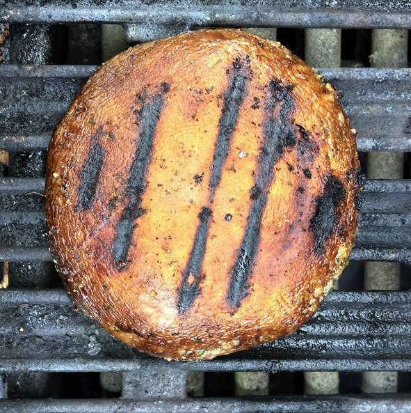 Mediterranean Portobello Mushroom Burger Recipe
