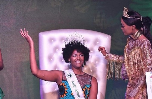 Miss Africa 2018, Dorcas Kasinde was unharmed in the incident.