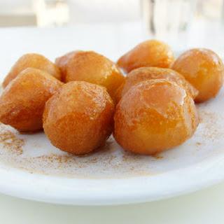 Greek Honey Puffs - Loukoumades.