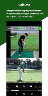 Download iGolf.One - Analyse de votre Swing par un Pro For PC Windows and Mac apk screenshot 1