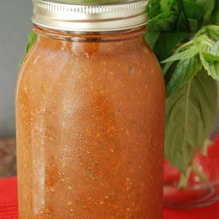 Homemade Veggie Tomato Sauce