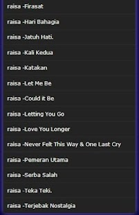 Lagu Raisa - Usai Di Sini mp3 - náhled