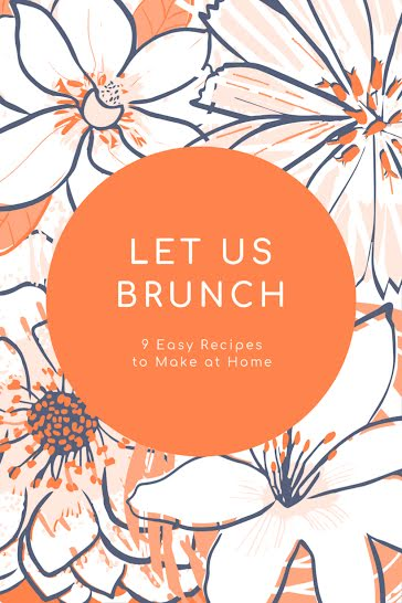 9 Easy Brunch Recipes - Pinterest Pin Template