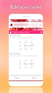 My Calendar - Period Tracker Appar (APK) gratis nedladdning för Android/PC/Windows screenshot