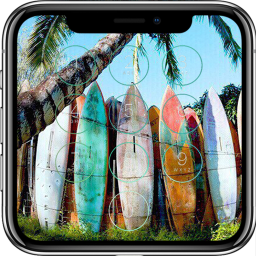 Surfboard Lock Screen