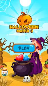 Halloween Candy Jewel: Match 3 v1.1 (Mod Lives)
