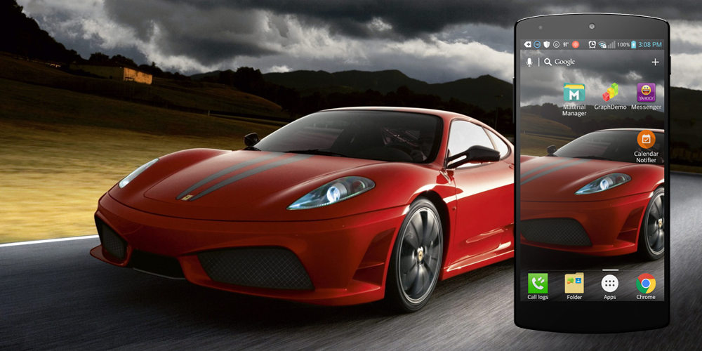 3d car live wallpaper android apps on google play - Car live wallpaper ...