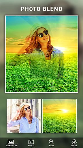 Photo Blend cam: Auto photo mixer blender merger 1.4 screenshots 15