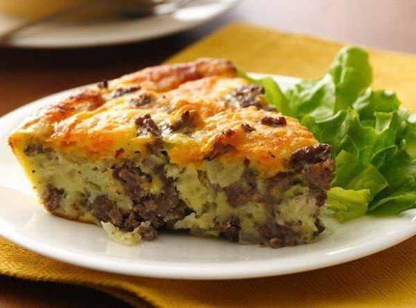 Impossibly Easy Cheeseburger Pie Recipe