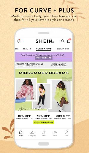 SHEIN-Fashion Shopping Online 7.2.4 Screenshots 4