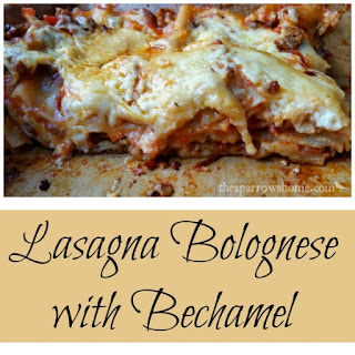 Lasagna Bolognese with Bechamel Recipe