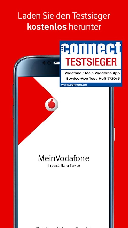 MeinVodafone- screenshot