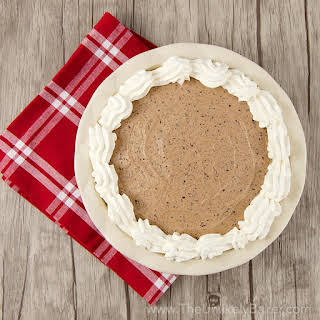 No-Bake Baileys Chocolate Mousse Pie.