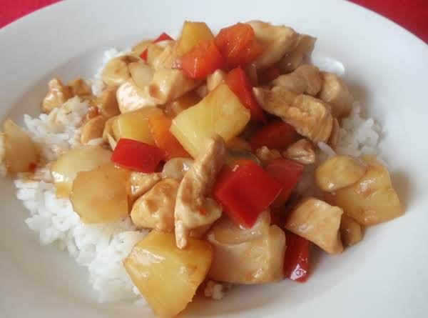 Pineapple Sweet & Sour Chicken Recipe