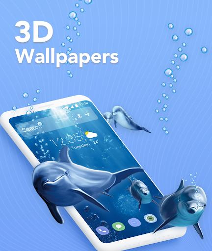 Download Magic Launcher - Memoji & 3D Theme, Live Wallpaper For PC 1