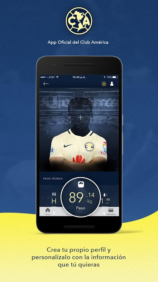 Club América: captura de pantalla