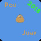 Pou Jump icon