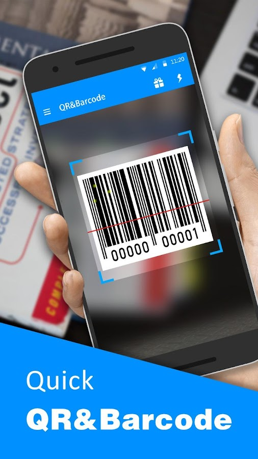 Barcode QR Scanner- screenshot