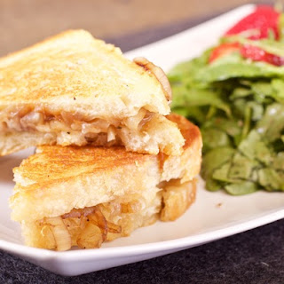 Caramelized Onion Grilled Cheese Sandwich
