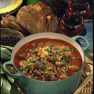 Hearty Goulash Soup.