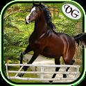 Arabian Horse Jumping icon