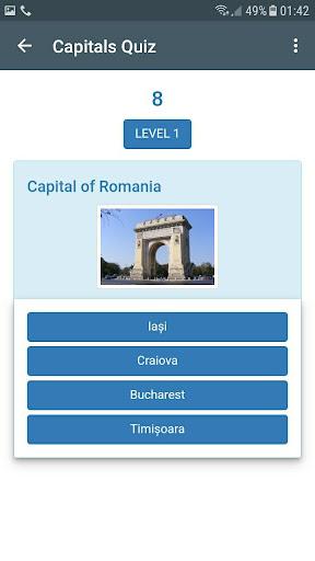Capitals Quiz