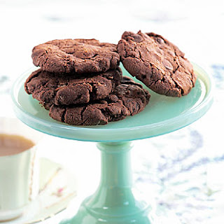 Dark Chocolate Oatmeal Cookies