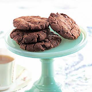 Dark Chocolate Oatmeal Cookies.