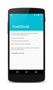Push2Droid- screenshot thumbnail