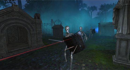 Graveyard - VR Cardboard screenshot 2