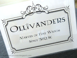 Photo: Ollivanders Sign
