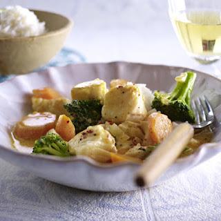 Thai Fish Curry.