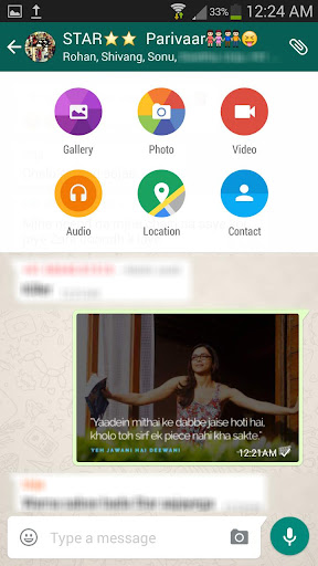 New Whatsapp Interface Design