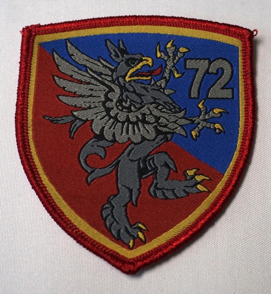Žakard amblem 72. izviđačko-diverzantskog bataljona Specijalne brigade.