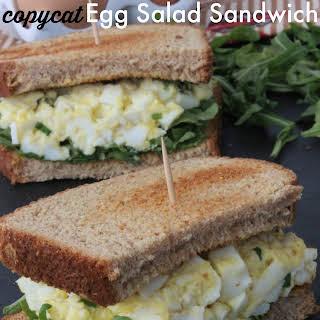 Copycat Starbucks Egg Salad Sandwich.
