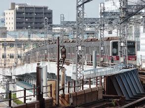 Photo: Hibiya Line Metro, Minami-Senju, Tokyo.