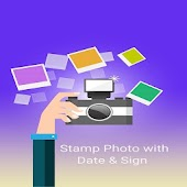Stamp Photo with Date and Sign