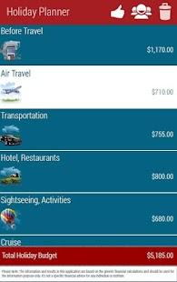 Holiday Planner Lite- screenshot thumbnail