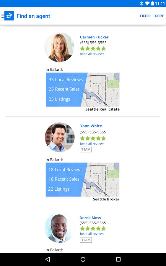 Zillow Real Estate & Rentals- screenshot