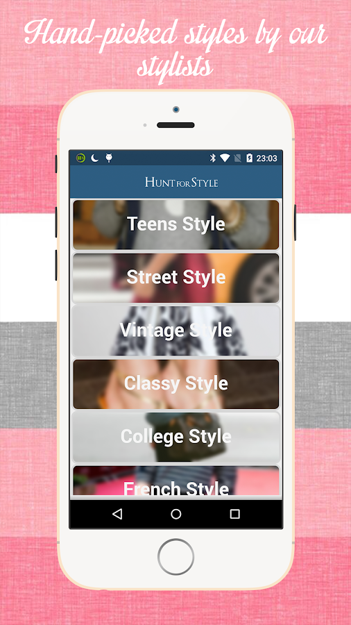 Hunt For Style - Styling Board- screenshot