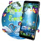 Swan Couple Magical Forest APK
