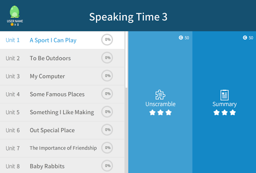 Speaking Time 3 5.0.1 screenshots 3
