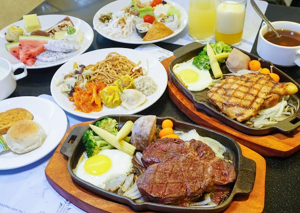 超值排餐+自助吧吃到飽飲料無限暢飲-城市商旅魅麗海西餐廳