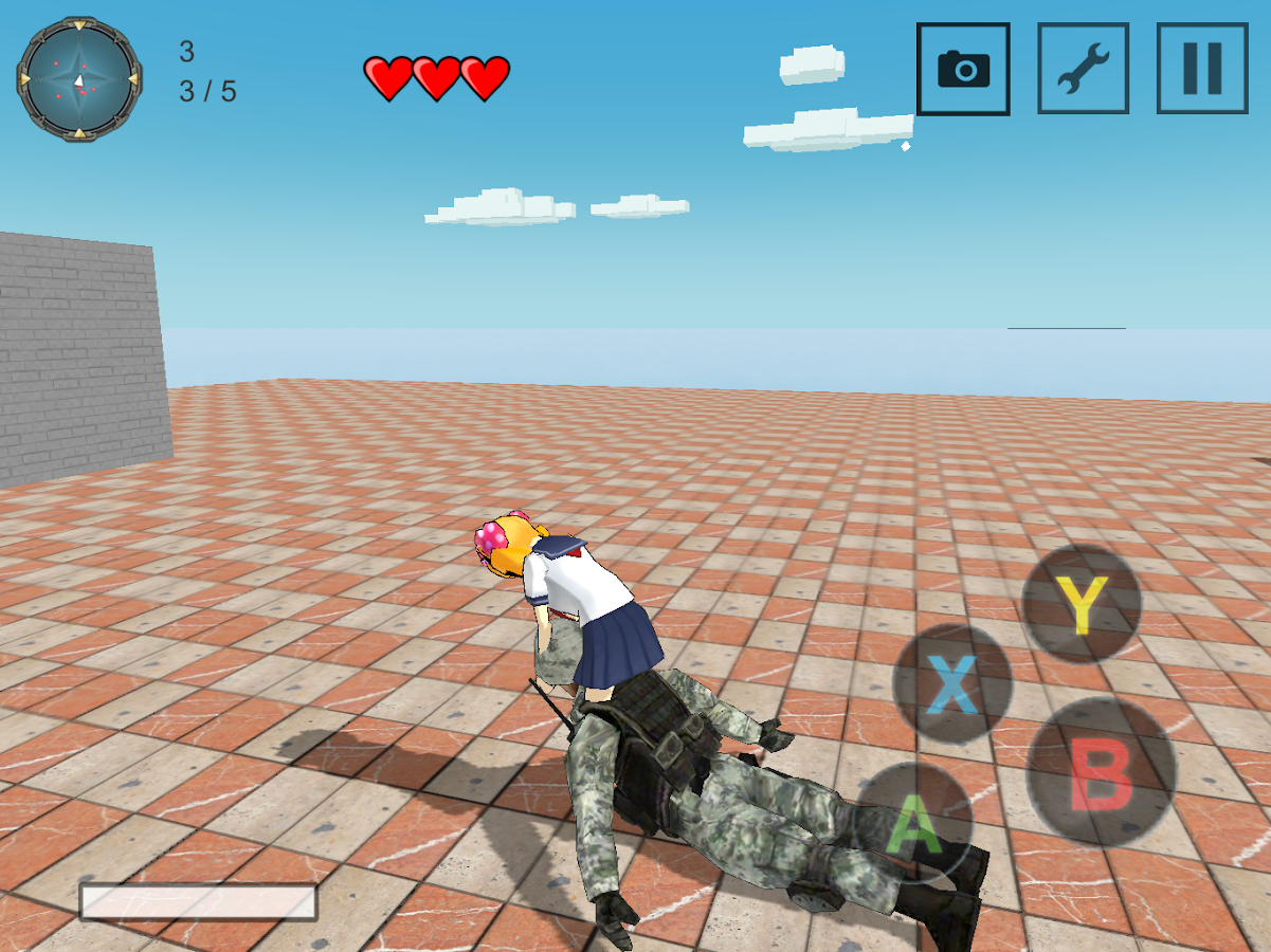 High School Simulator Battle- screenshot