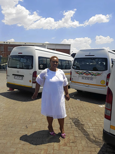Thembi Magubane is the deputy chair of the Benoni Taxi Association. /Supplied